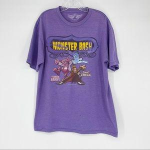 Monster Bash Graphic Tshirt RARE Cereal Halloween